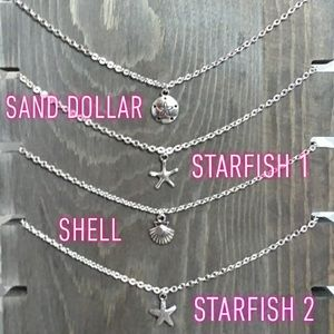 🌊Sea Necklaces In!! Sand Dollar, Shell, Starfish